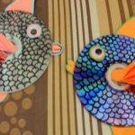 cd'den pratik balık nasıl yapımı