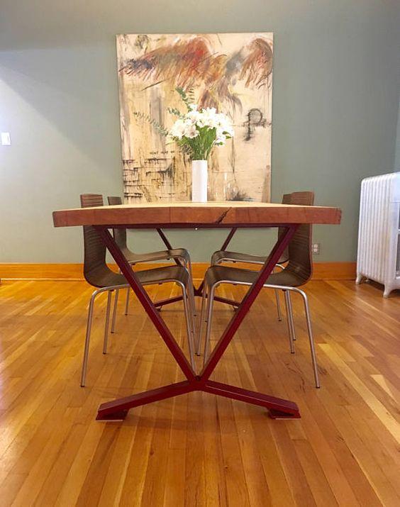 Çok Renkli Masa Ayakları