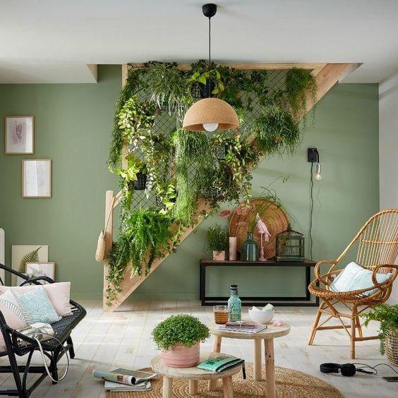 dekorasyonda bitki kullanımı