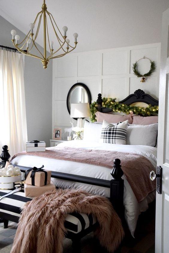 Kış Mevsimi için yatak odası Dekorasyon Önerileri