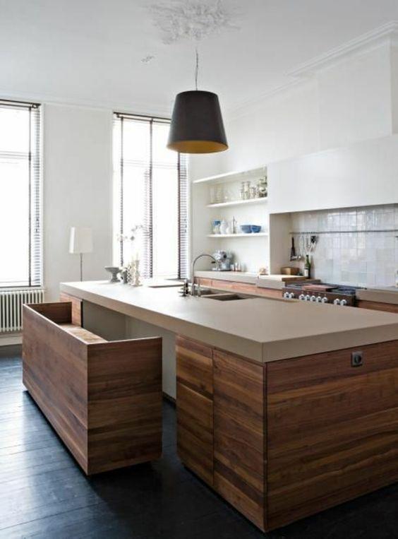 Küçük Mutfaklar için fonksiyonel Masa Modelleri