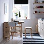 Küçük Mutfaklar için Masa Modeli