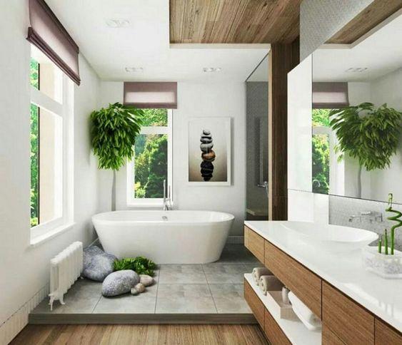 banyo dekoru