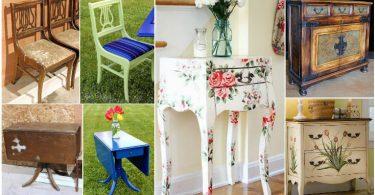Eski mobilyalardan renkli tasarımlar nasıl yapılır