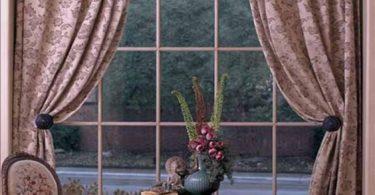 Yuvarlak Pencere İçin Perde Modelleri