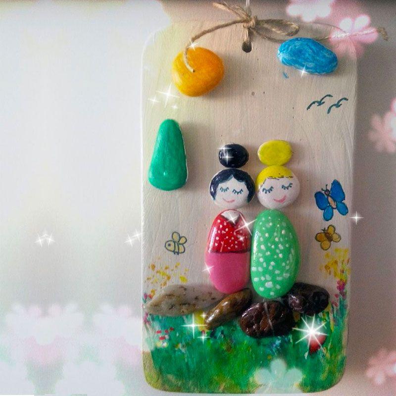 çocuk odaları iiçin doğal taş tablo