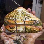 Doğal Taş Tablo boyama