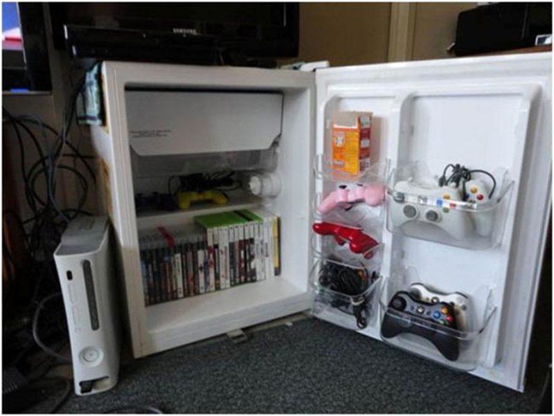 Eskiye Buzdolabının Dönüşümü .