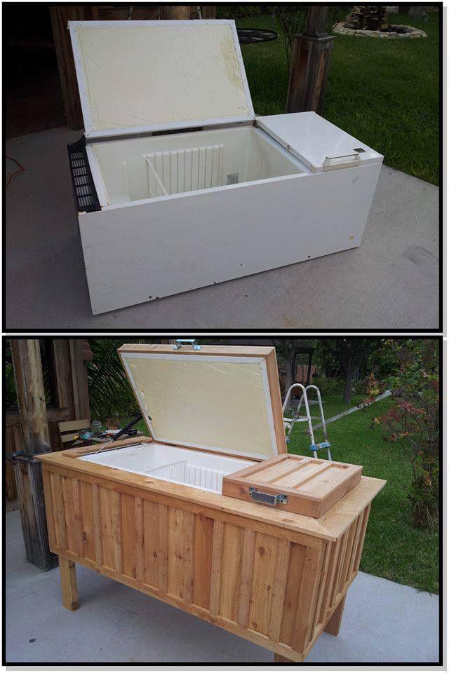 Eskiye Buzdolabının Harika Dönüşümü
