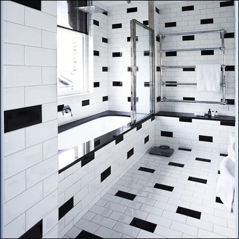 Banyo Ve Mutfakta Siyah Duvar Kullanımı 2019