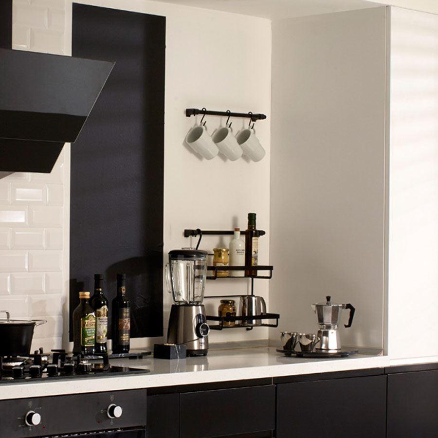 Banyo Ve Mutfakta Siyah Duvar Kullanımı nasıl olur