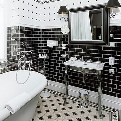 Banyo Ve Mutfakta Siyah