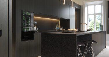 Banyo Ve Mutfakta Siyah Duvar Kullanımı