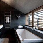 mat siyah banyo