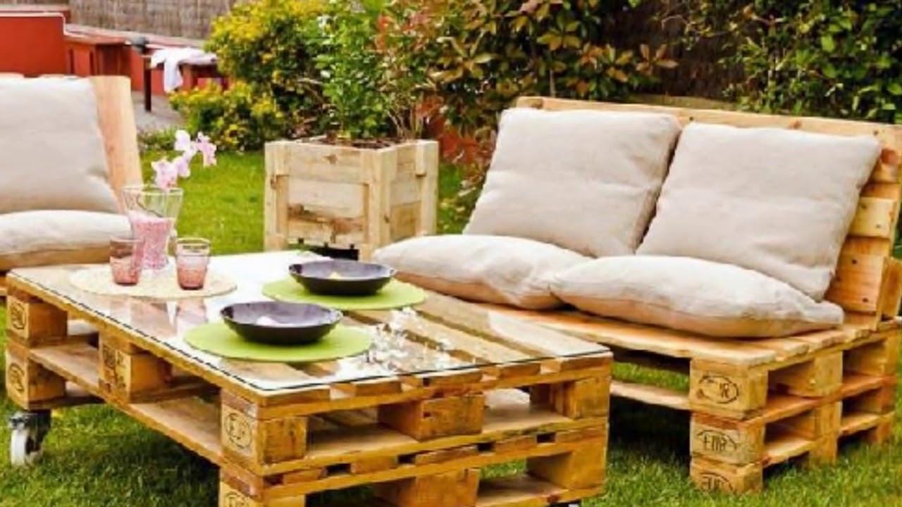 Paletten Masa Sandalye Yapımı   DekorBlog