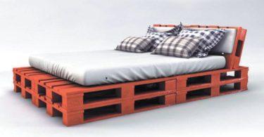 Paletten Yatak Yapımı